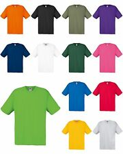 "T-Shirt manica corta Fruit of the Loom ""ORIGINAL T"" - 100% cotone Belcoro 145 GR"