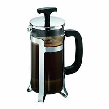 BODUM Jesper French Press 8-Cup Coffee Maker 1.0 L Stainless Steel/Plastic Frame