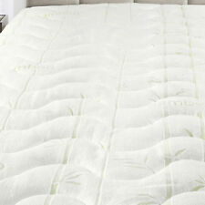 Abripedic Cool & Plush 100% Rayon From Bamboo Twin-XL Size Mattress Pad/Topper