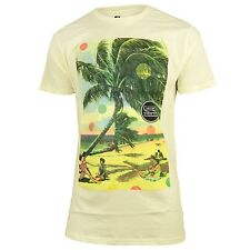 Analog Beach Daze men's T-Shirt yellow - NEW - Size L