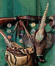 Hunting Still Life by John Atherton Painting Print on Wrapped Canvas