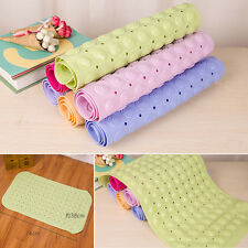Large Strong Anti Non Slip Shower Bath Mat Bathroom Safety Rubber Suction Cups