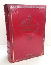 Vintage Tin Novel Chocolate Biscuits by Cadbury's Red & Gold Faux Book Design