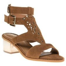 New Womens SOLE Tan Mindy Synthetic Sandals Gladiators Buckle
