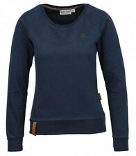 Naketano Damen Sweater Krokettenhorst IV Dark Blue