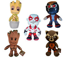 MARVEL GUARDIANS OF THE GALAXY ROCKET GROOT STAR LORD OFFICIAL PLUSH SOFT TOY