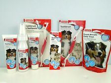 Beaphar Dog Toothbrush & Toothpaste Kit Healthy Teeth & Gums Pet Dental Care