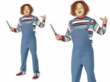 Adult Chucky Costume Childs Play Doll Halloween Mens Fancy Dress