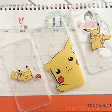 Fashion Cartoon Cute Pokemon Pikachu phone Case Cover For iPhone 6 6plus 5 5s SE