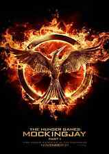 The Hunger Games - Mockingjay Part 1 Film Posters  - A3 & A4 - Option 2