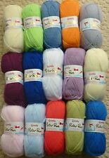 50g Peter Pan Baby Double Knitting Knitting Wool Yarn