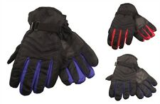 Exterior Impermeable Guantes esquí, Hombre Mujer Thinsulate Forro Polar Guantes