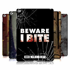 OFFICIAL AMC THE WALKING DEAD TYPOGRAPHY HARD BACK CASE FOR APPLE iPAD