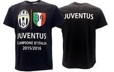 Juventus t-shirt 34 Scudetto Ufficiale Juve Campioni HI5TORY 2015 16 Winner Tee