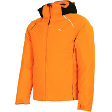 Kjus Boys Formula Jacket orange pepper/black