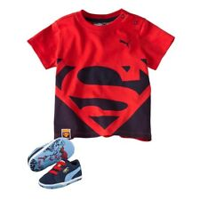 Puma Crib Pack Suede Superman 2 Crawling Shoes + T-Shirt 70d6ede6f