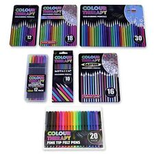 Colour Therapy Colouring Pencils & Pens