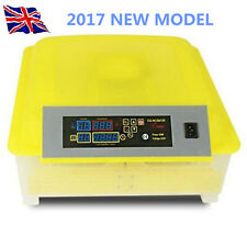 2017 New 48 Egg Automatic Chicken Incubator Poultry Hatcher  Quail UK/EU Plug