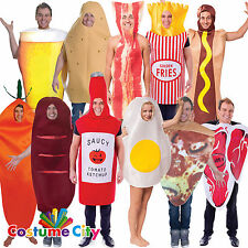 S Mens Womens Fun Food Drink Hen Stag Night Fancy Dress Party Costume