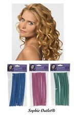 6 x Bendy Curly Rollers Soft Twisty Foam Hair Dressing Curling Tools Curlers Set