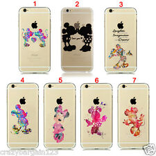 Mickey Minnie Mouse Cartoon Fan Art for iPhone Transparent Hard Clear Case Cover