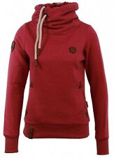 Naketano Damen Kapuzenpullover Darth VIII  Purple Melange