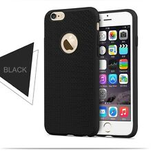 Ultra Thin Matte Hollow Net Design Soft Back Case Cover TPU Silicone iPhones