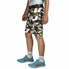 Greentree Mens Cotton Shorts Jungle Print 6 Pocket Cargo Shorts MASR43