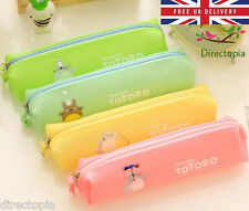 My Neighbor Totoro Cosmetic Pencil Case Bag Pen Anime Studio Ghibli Kawaii Cute