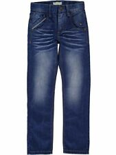 NAME IT coole Slim Fit Denim Jeans Hose Ralf Street in blau Größe 92 bis 164