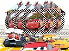 Disney Pixar Cars Birthday Party Tableware Decorations Supplies Plates Balloons