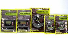 Komodo Combination Guage, Thermostate & Hygrometer Reptile vavarium gauges
