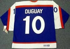 RON DUGUAY New York Rangers 1978 CCM Vintage Throwback NHL Hockey Jersey