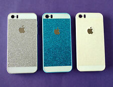 APPLE IPHONE 5/5S PREMIUM GLITTER LUXURY HARD BACK CASE COVERS.