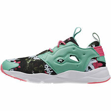 Reebok Furylite Graphic V70598 Donna Ragazza LifeStyle simile Pump Fury NEW