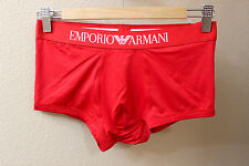 Emporio Armani men Red microfiber Trunk Underwear size S or M