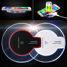 Qi Wireless Charger Charging Induktion Ladegerät für Samsung Galaxy S6/S6 Edge