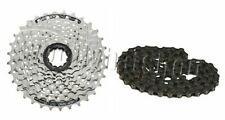 Shimano HG41 Cassette Acera 8 Speed Bike Cassette Sprocket + HG40 Chain Deal