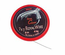 Iron Claw Stahlvorfach  Royal Wire 5m 7x7 5m Pike Hechtvorfach Vorfachmaterial