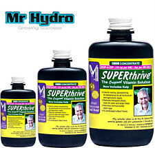 Superthrive Plant Hormones & Vitamins 30, 60 or 120 ml