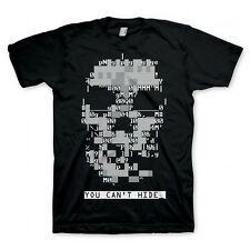 Watch Dogs Adults Xbox Binary Aiden Crew Neck Casual Dedsec Skull T-Shirt CMUK