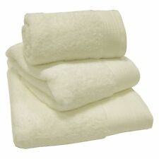 Cream 100% Egyptian Cotton 600gsm Thick Heavyweight Bath Towels Or/& Mats Luxury