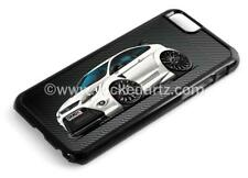 RetroArtz Cartoon Car Ford Focus RS MK2 White (BK Alloys) iPhone 6/6+ Case/Cover