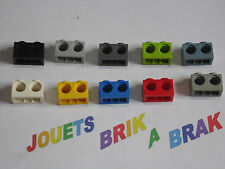 Lot LEGO brique brick de 1x2 ou 2x1 avec 2 trous holes choose color ref 32000