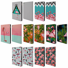 OFFICIAL MARK ASHKENAZI FLAMINGO LEATHER BOOK WALLET CASE COVER FOR APPLE iPAD