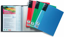 A4 Presentation Display Book Folders with 20 Clear Wing Pockets by Pentel