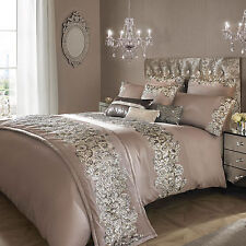 Kylie Minogue Bedding Petra Beige Duvet Cover Bed Linen Cushions Bed Throw