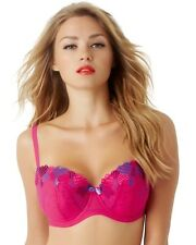 New Lower price......Cleo by Panache Nina Balconnet Bra 28-38 D to G Cup Pink