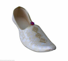 INDIAN HANDMADE MEN WEDDING SHERWANI GROOM JUTI KHUSSA SHOES FLIP-FLOPS