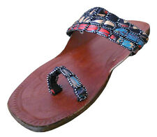 INDIA SIZE 4-8 WOMEN SHOES SLIPPER TRADITIONAL HANDMADE LEATHER FOOTWEAR JOOTI